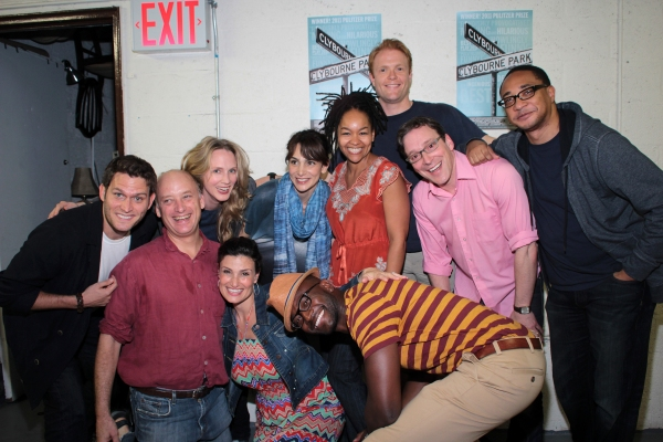 Photo Coverage: Taye Diggs, Idina Menzel & Steven Pasquale Visit CLYBOURNE PARK