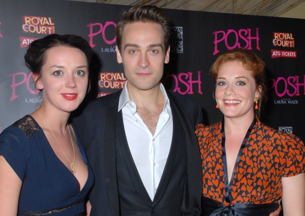 Photo Flash: POSH Opens on the West End - Arrivals and After-Show Party Feat. John Barrowman, Cast & Creatives