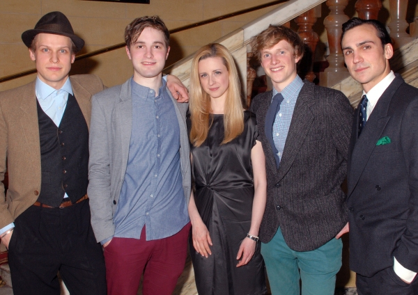 Max Bennett, Edward Killingback, Laura Wade, Harry Lister Smith & Henry Lloyd-Hughes