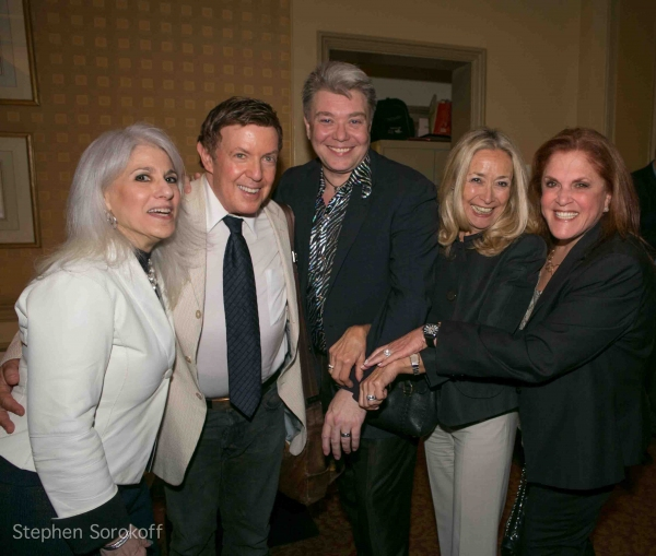 Jamie deRoy, Shelly Markham, Richard Skipper, Eda Sorokoff, Peggy Herman at Jennifer Sheehan Brings 'I Know A Place' to Feinstein's at Loews Regency
