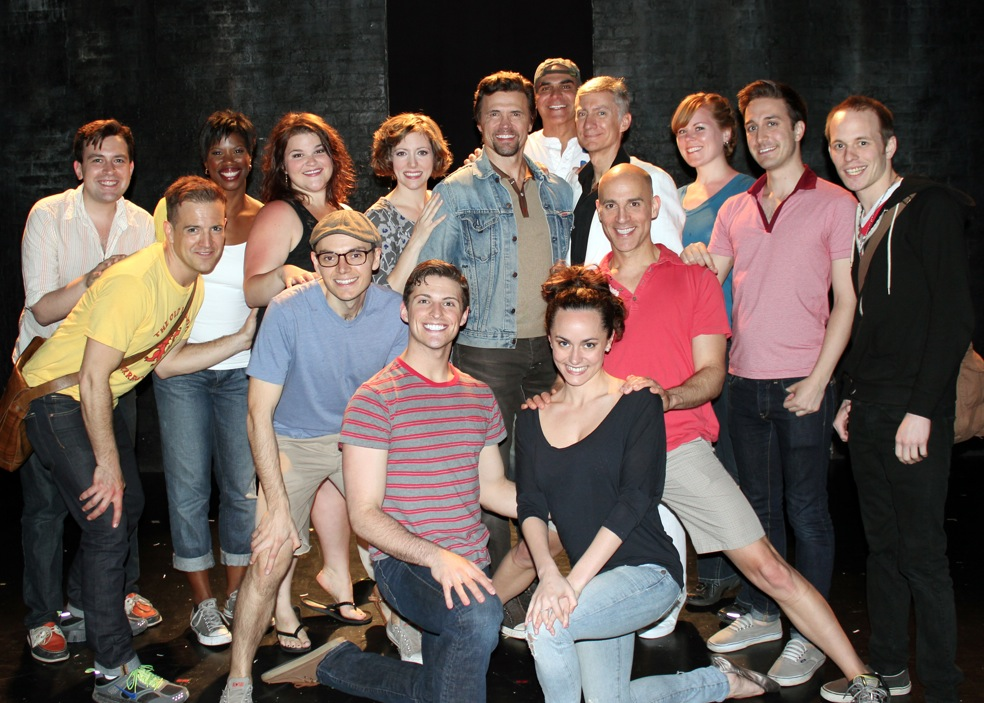 Photo Flash: Original Hannibal Lecter Brent Barrett Visits SILENCE! The Musical