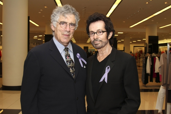 Elliott Gould and George Chakiris