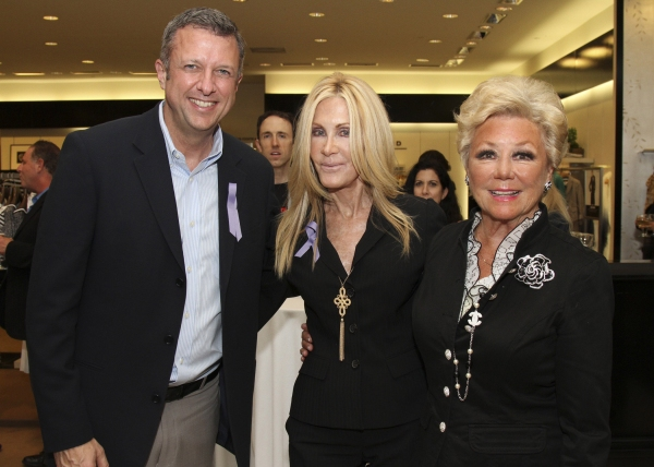 Keith McNutt, Joan Van Ark and Mitzi Gaynor at Mitzi Gaynor Hosts Tony Awards VIP Kick-Off!