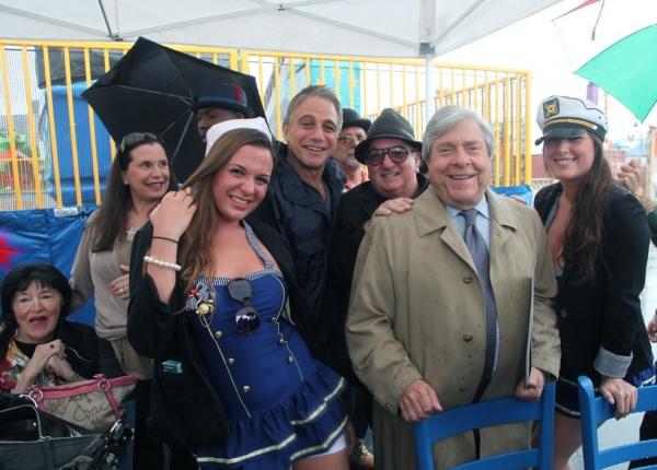 """BP Markowitz, John """"Cha Cha"""" Ciarcia, Tony Danza, Dick Zigun and Company"""