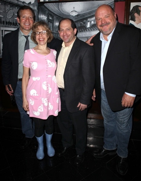 Steve Guttenberg, Jackie Hoffman, Jason Kravits & Kevin Chamberlin at The Helen Hayes Theatre Turns 100! Harvey Fierstein & More!