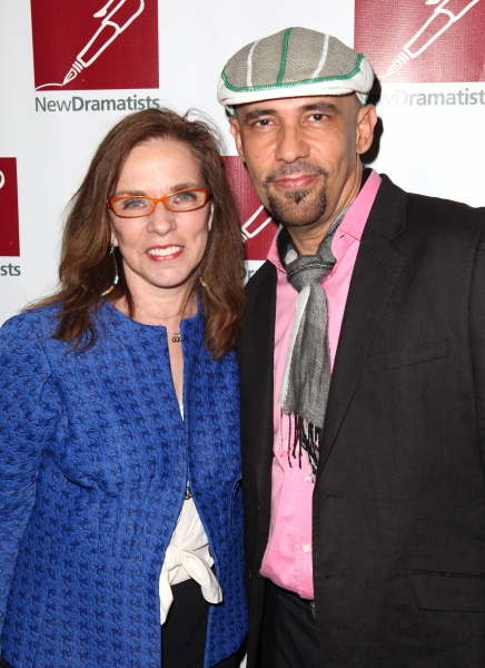 Marsha Norman & Nilo Cruz at Joel Grey & More Honor Bernadette Peters with New Dramatists Lifetime Achievement Prize