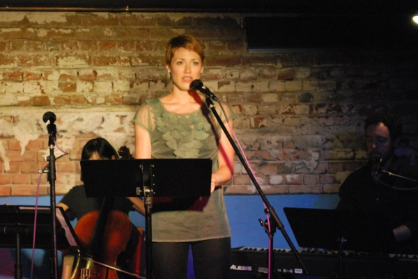 Lisa Livesay at Inside SONDHEIM UNPLUGGED with Will Collyer, Melissa Hoff, et al.
