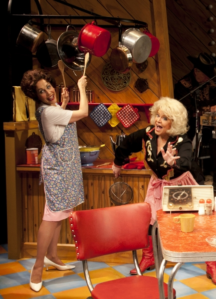 Carter Calvert and Sally Struthers at  First Look at Sally Struthers and Carter Calvert in ALWAYS PATSY CLINE