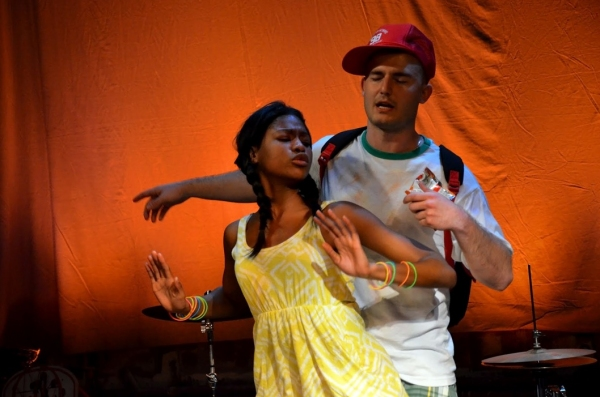 Photo Flash: KING'S RIVER Makes World Premiere at Medicine Show Theatre