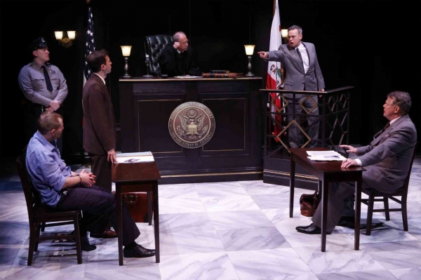 Photo Flash: MURDER IN THE FIRST Debuts Off-Broadway Tonight at 59E59 Theaters