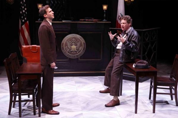 Guy Burnet and Joseph Adams