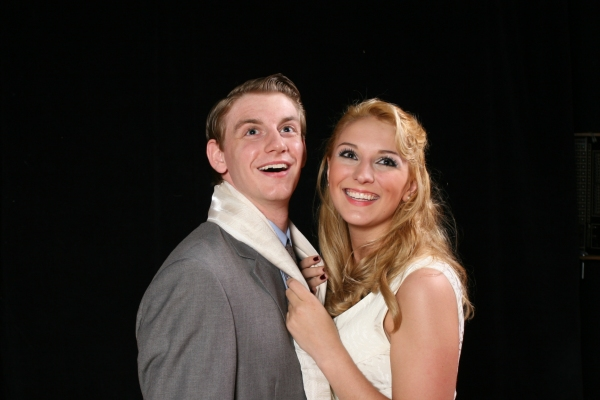 Tim Howard as Leo and Nicole Campbell as Ulla