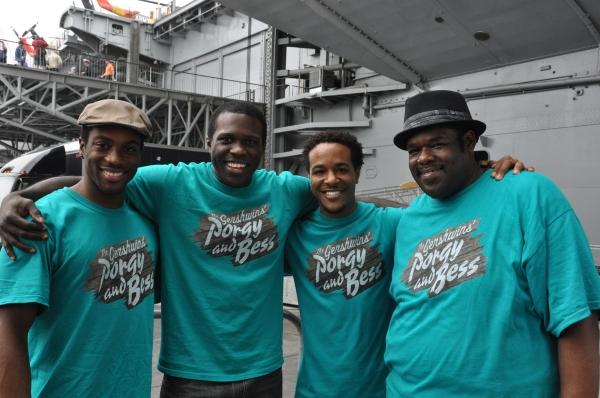 Wilkie Ferguson III, Joshua Henry, Trevon Davis and Roosevelt Andre Credit