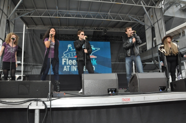 Photo Coverage: Casts of ANYTHING GOES, SISTER ACT, GHOST and More Perform for Fleet Week 2012!