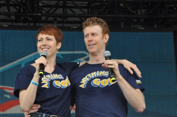 Kiira Schmidt and Mark Ledbetter