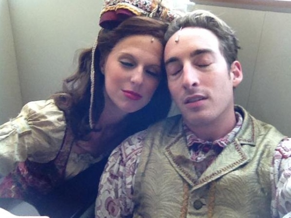 YOUNG FRANKENSTEIN's Kevin Metzger and Kinsland Howell (National Tour)