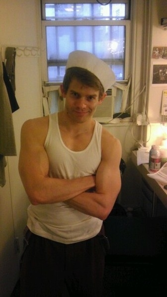 Photo Flash: Memorial Day Weekend Saturday Intermission Pics - NEWSIES, JERSEY BOYS, West End's THE 39 STEPS and More!