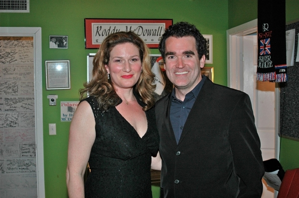 Photo Flash: Ana Gasteyer and Brian d'Arcy James at Bay Street Theatre