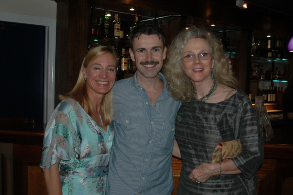 Tracy Mitchell, Matt McGrath and Blythe Danner