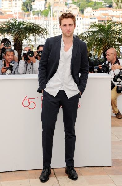 Photo Flash: COSMOPOLIS' Robert Pattinson, David Cronenberg et al. at 65th Cannes Film Festival