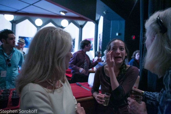 Brooke Bloom at Barrington Stage Company's LUNGS- Opening Night!