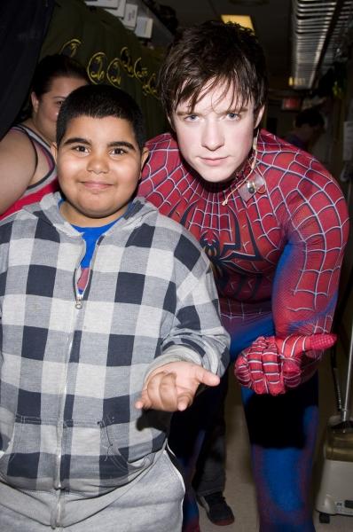 Photo Flash: SPIDER-MAN Cast Welcomes Armando Bigo