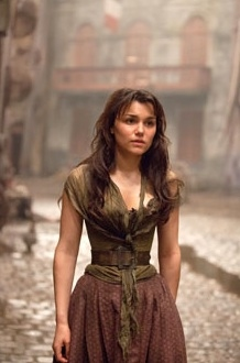 Samantha Barks at Official Shots Released from Upcoming LES MISERABLES Film!