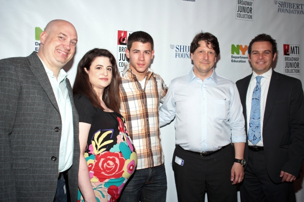 Marty Johnson, Amy Dorfman Wine, Nick Jonas, Edward Miller, Peter Avery