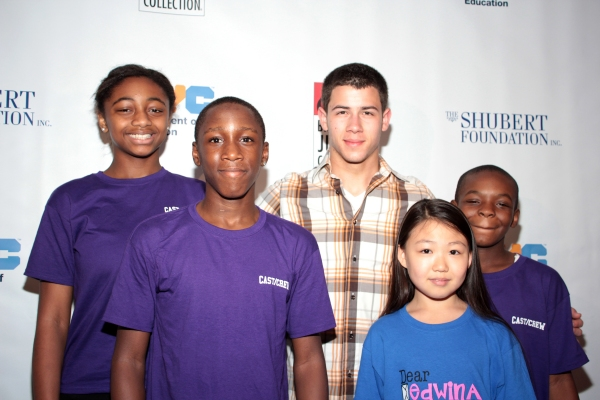 Photo Coverage: Inside Broadway Jr. Festivities with Nick Jonas!