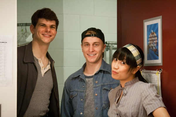 Will Burton, Scott Shedenhelm, and Jessica Wu  Photo