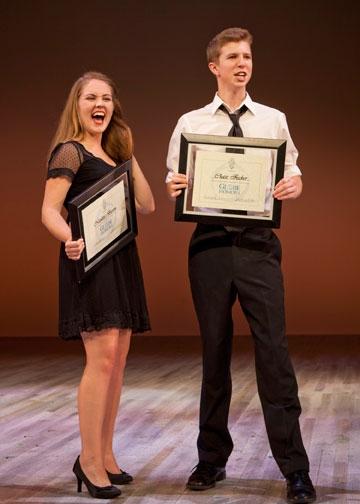 Nicolette Burton and Chase Fischer