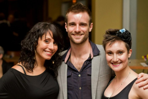 Michelle Aravena, Drew Foster and Alexandra Frolingher