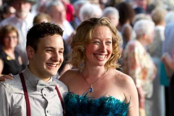 Jennifer Stewart and Alessandro Constantini