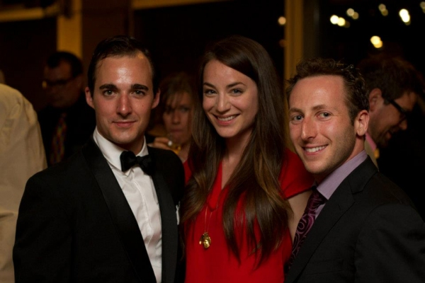 Tyron Savage, Lara Gilchrist and Josh Epstein  Photo