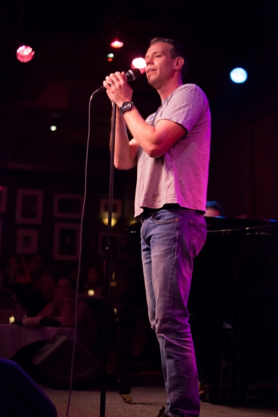Adam Pascal at Miranda Sings, Joshua Ledet, & More Visit Birdland!