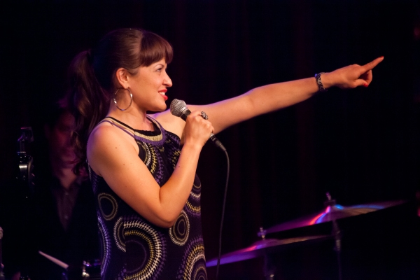 Jenna Esposito at Miranda Sings, Joshua Ledet, & More Visit Birdland!