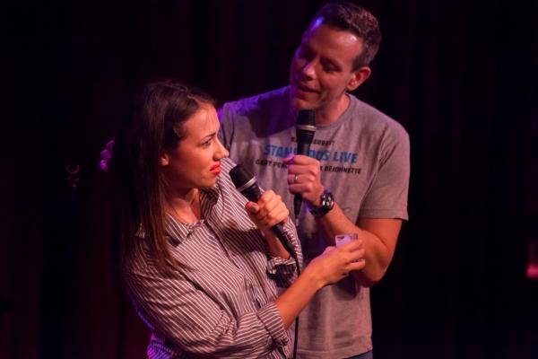 Miranda Sings, Adam Pascal at Miranda Sings, Joshua Ledet, & More Visit Birdland!