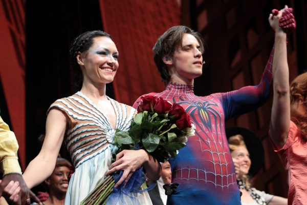 Photo Coverage: Katrina Lenk Debuts as 'Arachne' in SPIDER-MAN