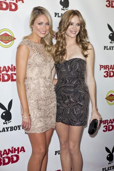 Katrina Bowden and Danielle Panabaker