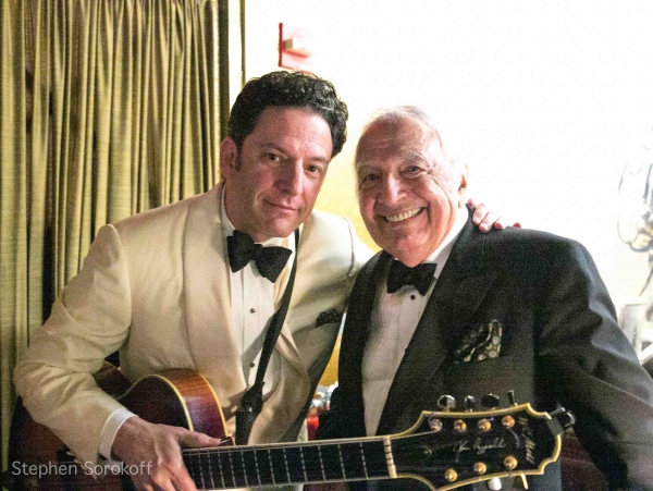 John Pizzarelli & Bucky Pizzarelli at The John Pizzarelli Quartet Plays Cafe Carlyle