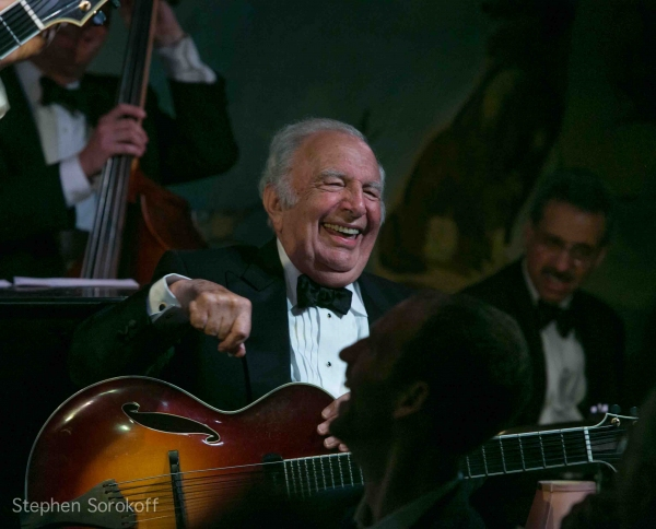Bucky Pizzarelli at The John Pizzarelli Quartet Plays Cafe Carlyle