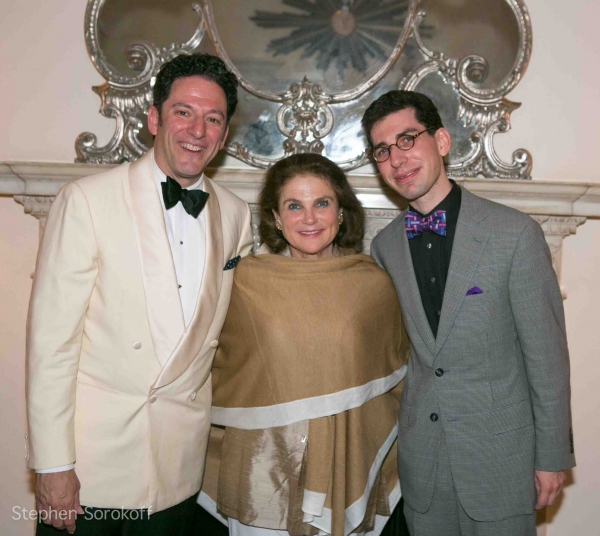 John Pizzarelli, Tova Feldshuh, Aaron Weinstein at The John Pizzarelli Quartet Plays Cafe Carlyle