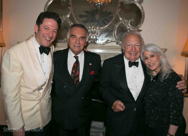 John Pizzarelli, Tony Lo Bianco, Bucky PIzzarelli, Jamie deRoy at The John Pizzarelli Quartet Plays Cafe Carlyle