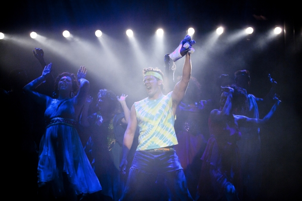 Charlie Brady at First Look at Signature Theatre's XANADU!
