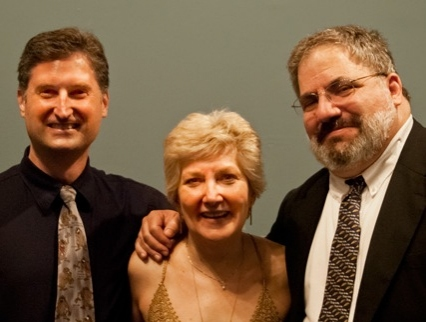 Abingdon's 19th Season playwrights John Morogiello, Blame It On Beckett; Jan Buttram, Lost on the Natchez Trace; Frank Tangredi, Lifeline.