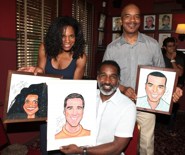 FREEZE FRAME: Norm Lewis Joins the Sardi's Wall of Fame