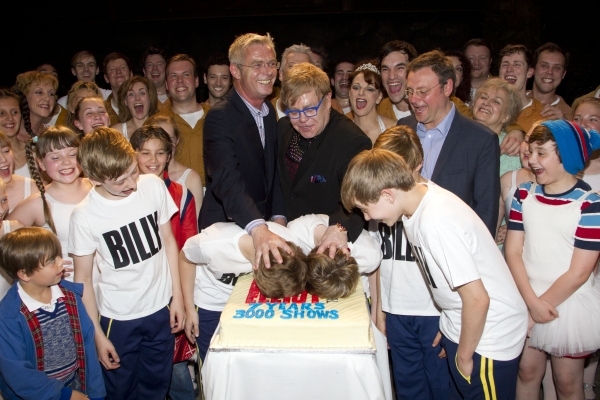 Elton John & Stephen Daldry Celebrate 3000 Performances of BILLY ELLIOT