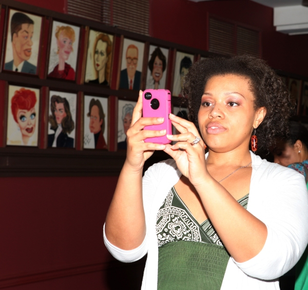 Carmen Ruby Floyd  at Norm Lewis Officially Joins Sardi's Wall of Fame