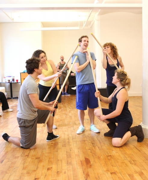 Photo Coverage: TRIASSIC PARQ The Musical in Rehearsal!