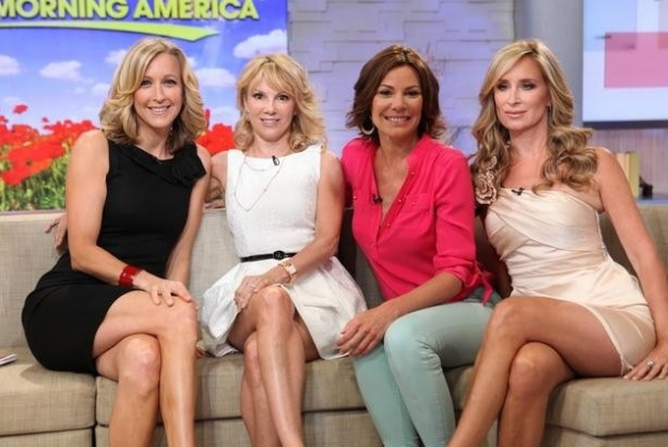 Photo Flash: REAL HOUSEWIVES OF NY Appear on GMA